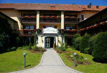 Eingang Hotel