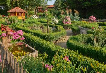 Kräutergarten im Kurpark